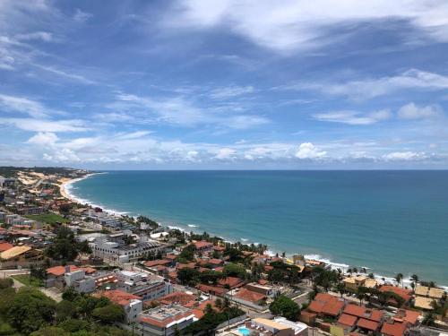 A bird's-eye view of Condomínio Riviera - Ponta Negra