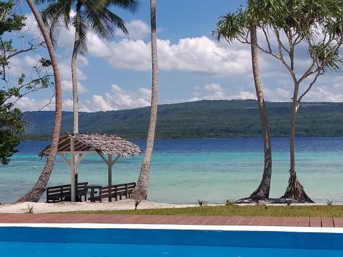 The swimming pool at or near Moso Island Luxury Retreat