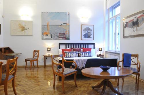 Posedenie v ubytovaní Art Gallery Dalmatinska