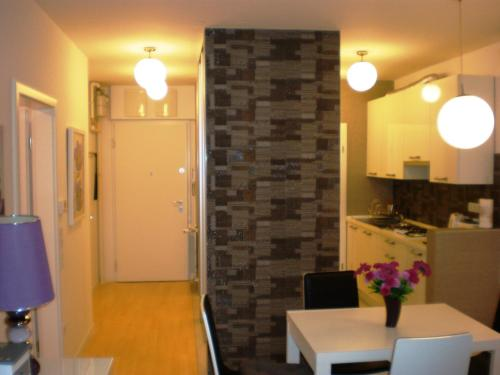 Kuchyňa alebo kuchynka v ubytovaní APARTMANI RUŽICA