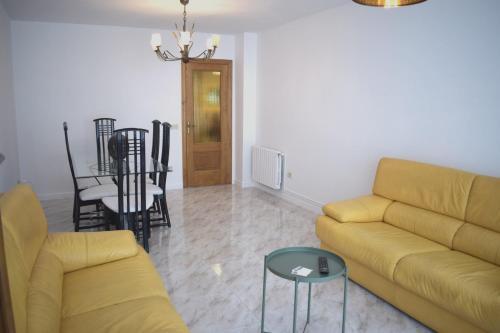 A seating area at La Casa de Manuel