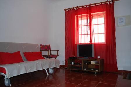 A seating area at Casa Boleta