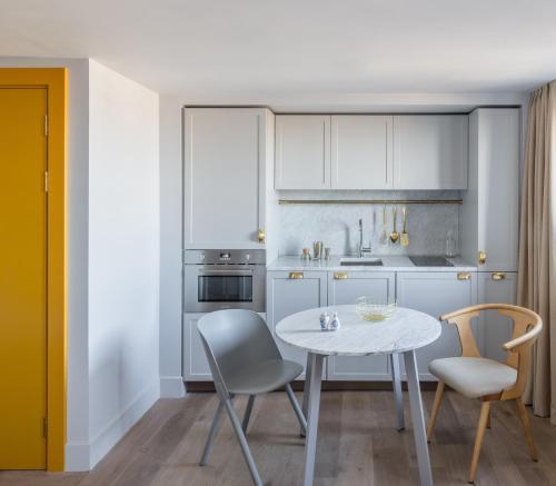 Küche/Küchenzeile in der Unterkunft Eden Locke