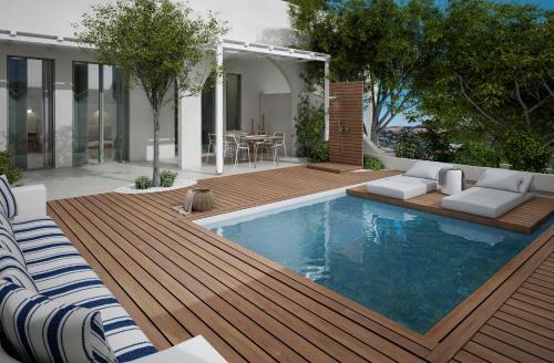 The swimming pool at or near Kedros Villas