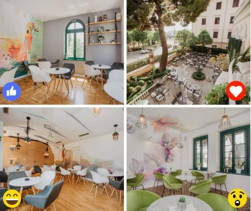 A restaurant or other place to eat at Shabby Chic Apartments
