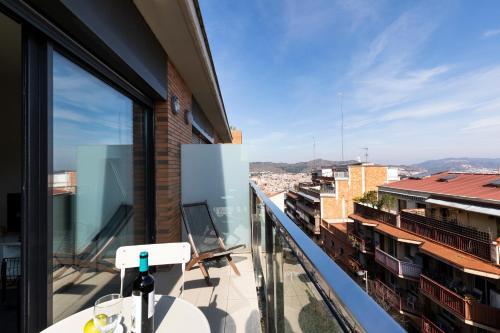 A balcony or terrace at AB Park Güell-Gaudi