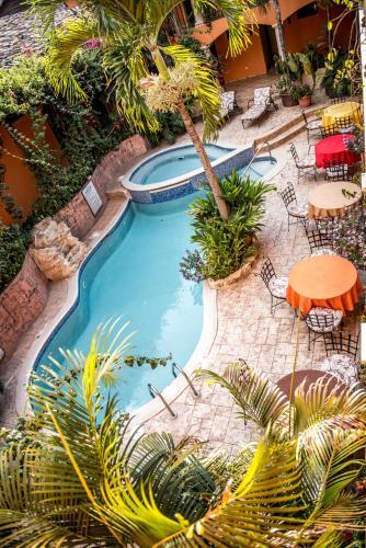Vista de la piscina de Hotel Posada de Don Juan o alrededores