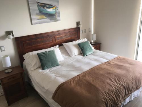 Cama o camas de una habitación en Kennedy Premium Apartments