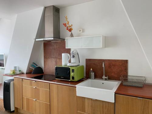 Una cocina o zona de cocina en Apartment Number 22 Antwerp