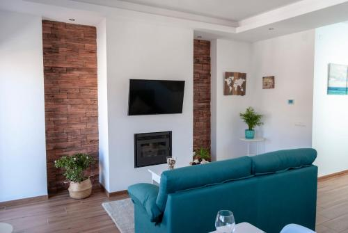 Zona de estar de Apartamentos Cantarería, Jazmín.