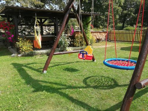 Herní místnost nebo prostor pro děti v ubytování Apartments U Macháčků
