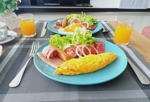 Breakfast options available to guests at Seastone Private Pool Villas