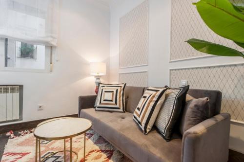 Ein Sitzbereich in der Unterkunft Alterhome Salamanca Luxury V
