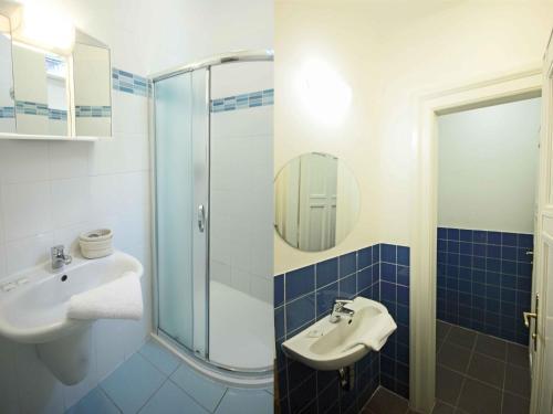 Kamar mandi di Apartment St. Giles.2