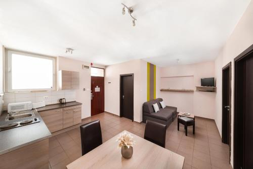 A kitchen or kitchenette at K9 Residence