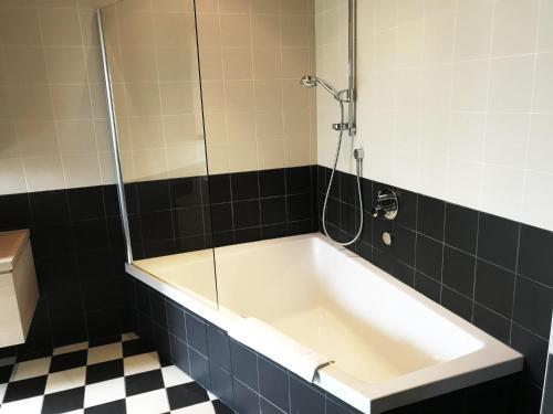 A bathroom at Blauwvoet
