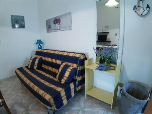 A seating area at Residence Spiagge Del Salento