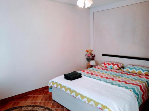 A bed or beds in a room at Casa Hermann