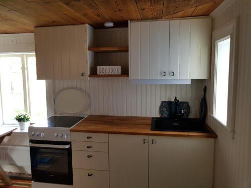 Ett kök eller pentry på Bullerbyn - Mellangården - Astrid Lindgren's family house