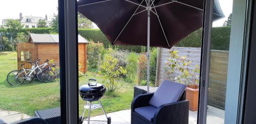 Ferienwohnung Petite maison avec terrasse et jardin ...