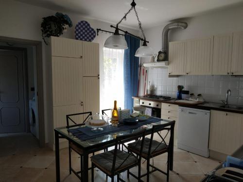 Kuchnia lub aneks kuchenny w obiekcie Villa Venino