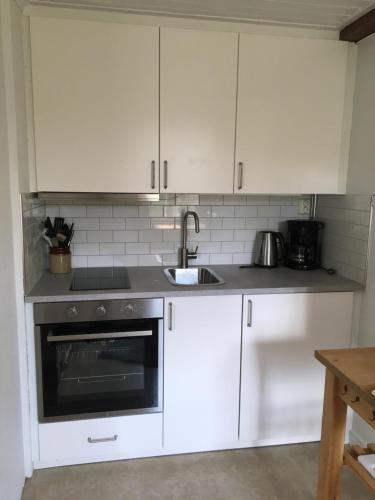 Ett kök eller pentry på Torpgården