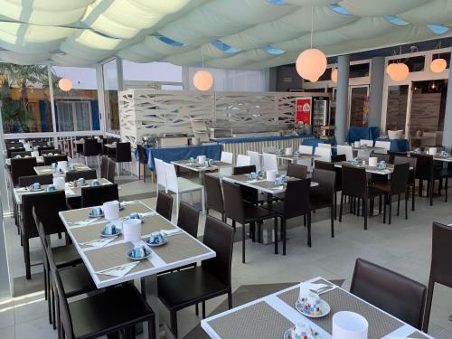 吉奧別墅海明威- 公寓式酒店餐廳或用餐的地方