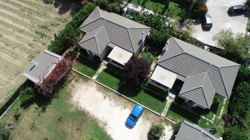 A bird's-eye view of Harmony Villas