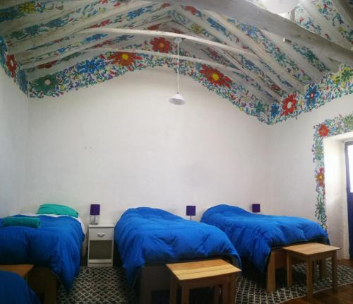 Cama o camas de una habitación en Historical Center Cusco Guest House