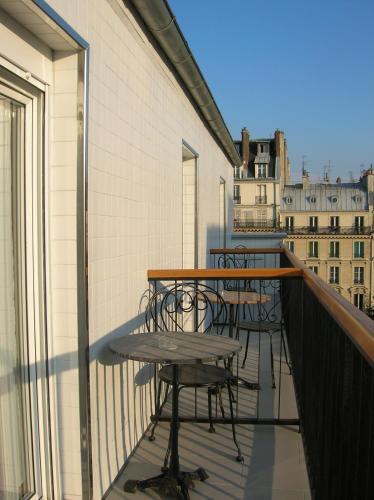 Balcó o terrassa a Hotel Darcet