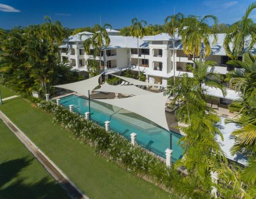 A view of the pool at Mandalay Luxury Beachfront Apartments or nearby