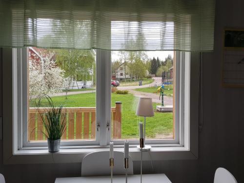 Utsikt från semesterhuset
