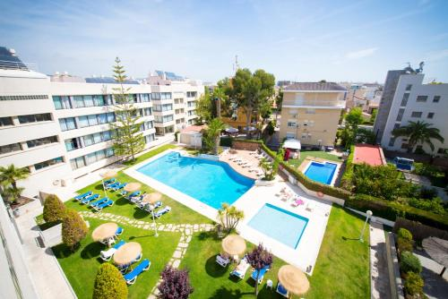 A view of the pool at Atenea Park Suites & Apartments or nearby