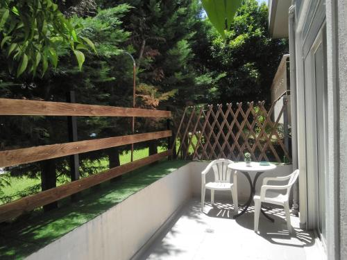 Балкон или терраса в Holiday and Business Home 1.2.3