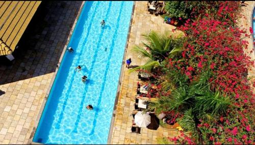 A view of the pool at Park L'acqua di roma - Cozinha completa or nearby