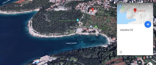 A bird's-eye view of Olga's Place-new apartment 200 mt from the Sea