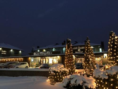 Art Village Club during the winter