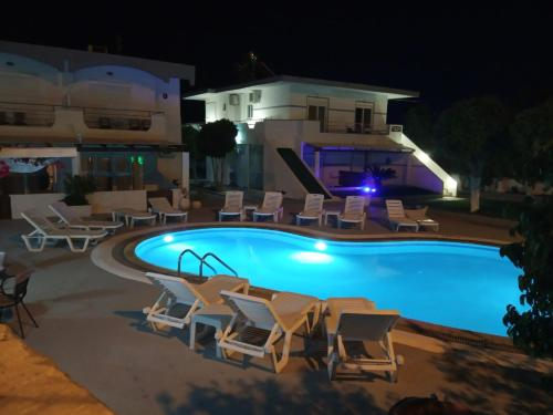 The swimming pool at or near Toula's Apartments