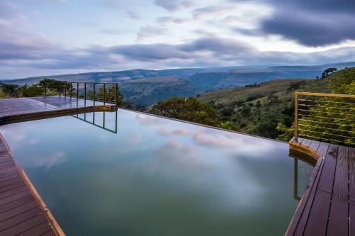 The swimming pool at or near Mount High Luxury Country Lodge
