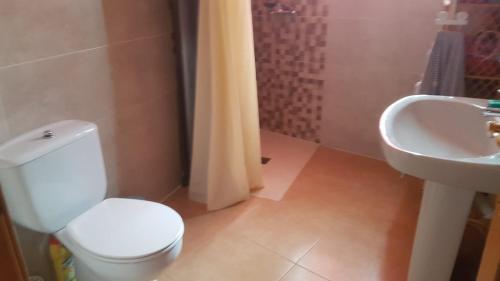 A bathroom at Casa Trini