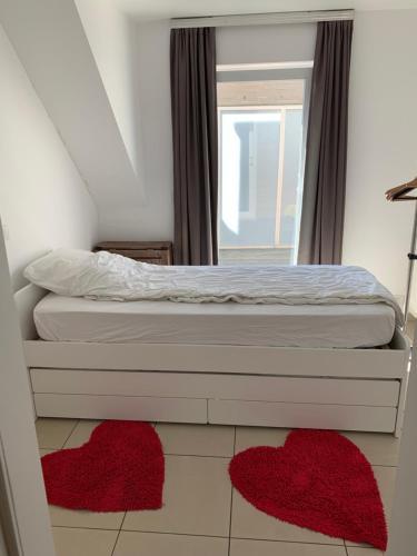 Ein Bett oder Betten in einem Zimmer der Unterkunft Villa D'este