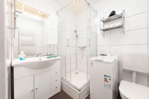 Ein Badezimmer in der Unterkunft Easyapartments Central