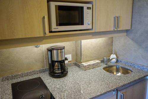 Una cocina o kitchenette en Patagonia suite