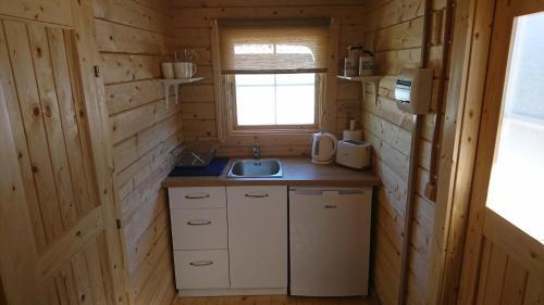 Köök või kööginurk majutusasutuses Aadel Guesthouse