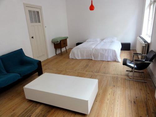 Ein Bett oder Betten in einem Zimmer der Unterkunft Villa Pladijs
