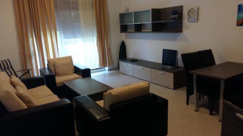 O zonă de relaxare la Club Residence Apartment