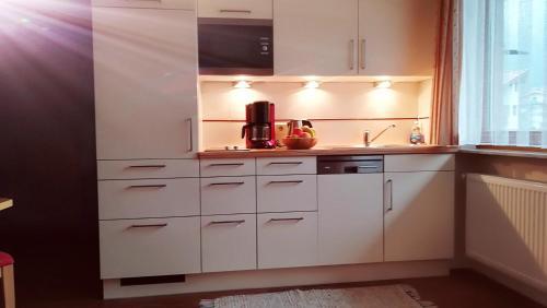 Küche/Küchenzeile in der Unterkunft Apart Austria