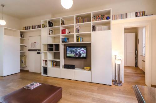 TV o dispositivi per l'intrattenimento presso Frassinago Apartment