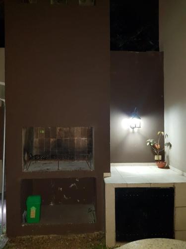 A kitchen or kitchenette at Taruca Monoambiente