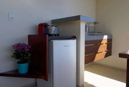 A kitchen or kitchenette at Batavia Sky Lounge